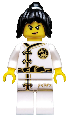 Minifig coltlnm02 : Lego Spinjitzu Training Nya – Minifigure Only Entry, no stand, no accessories [Collectible Minifigures:The LEGO Ninjago Movie] – BrickLink Reference Catalog