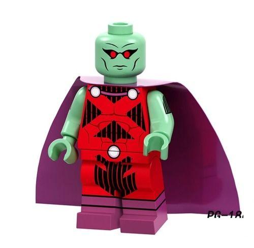 Martian Manhunter Custom Minifigures Minifigs Fit Lego