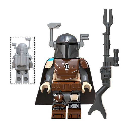 Mando Star Wars Minifigs Minifigure Fit Lego