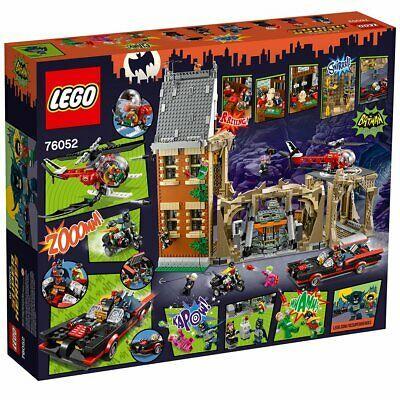 Lego DC Comics Super Heroes Batman Classic Batcave 76052 NEW SEALED Minifigures