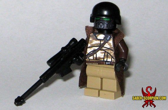 Post-Apoc Desert Ranger Custom Minifigure