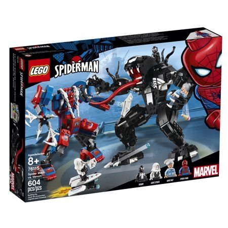 LEGO Super Heroes Marvel Spider Mech Vs. Venom 76115 Building Kit – Walmart.com