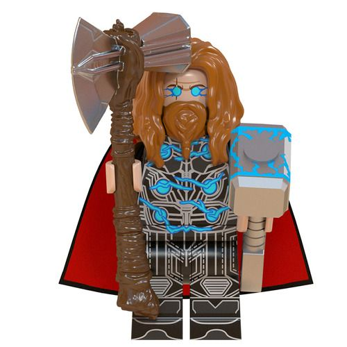 Thor Endgame Final Battle Custom Minifigs Lego