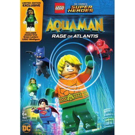 LEGO DC Super Heroes: Aquaman: Rage of Atlantis (w/mini figurine) (DVD) – Walmart.com