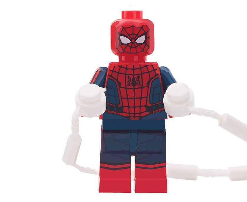 Spider-Man Minifigures Compatible Lego Avengers Super Heroes building block Toy