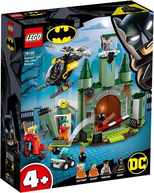 Konstruktionsspielsteine »Joker™ auf der Flucht und Batman™ (76138), DC Comics Super Heroes«, (171 S