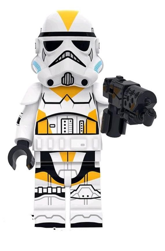 Clone Trooper 212th Attack Battalion Custom minifigure by Beau's Bricks.   Brand new in package.  Pl