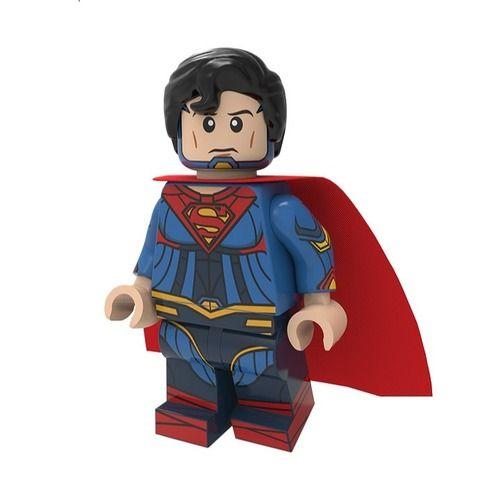 Superman Custom Minifigures Minifigs Fit Lego