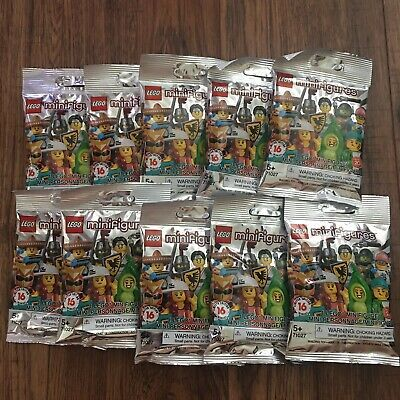 Ad – LEGO Minifigures 71027 Series 20 Blind Unopened Lot of (10) NEW