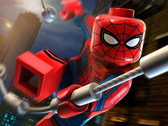 Your best look yet at the MCU Spider-Man minifigure