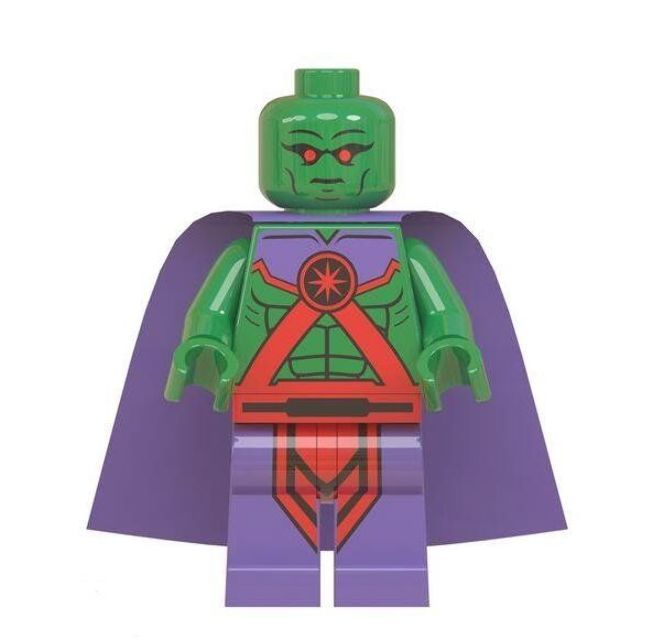 Martian Manhunter Lego Minifigures Compatible Super Heroes Toy