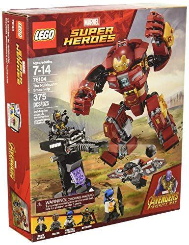 LEGO Marvel Super Heroes Avengers: Infinity War The Hulkbuster Smash-Up 76104 Building Kit (375 Piece) – Lovely Novelty