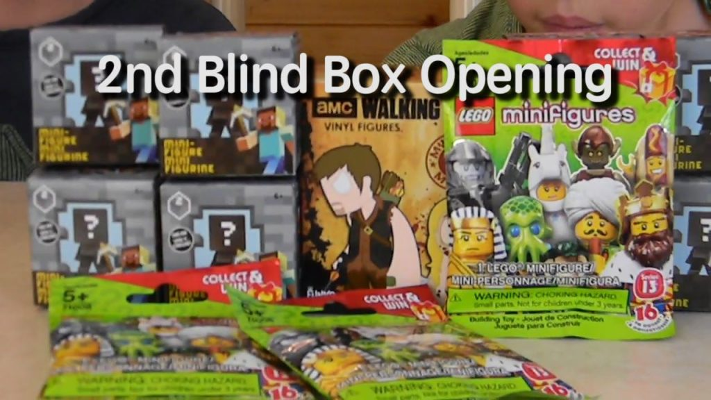 Minecraft Series & Lego Minifigures Blind Box Opening