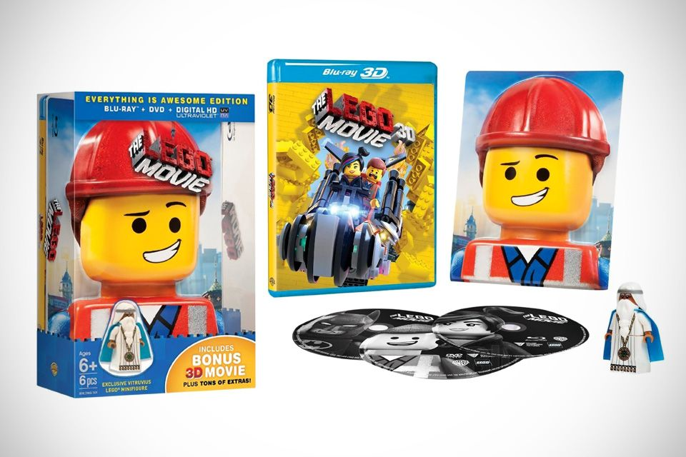 Buy The LEGO Movie: Everything Is Awesome Edition, Get An Exclusive Vitruvius Minifigure