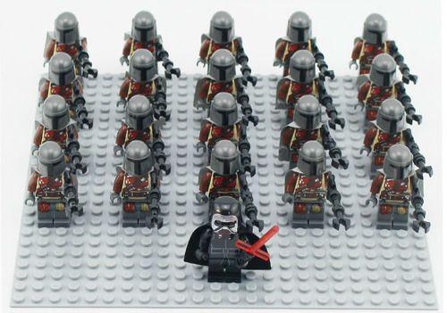 21Pcs/Lot Mandalorian Star Wars Minifigs Minifigures STAR02