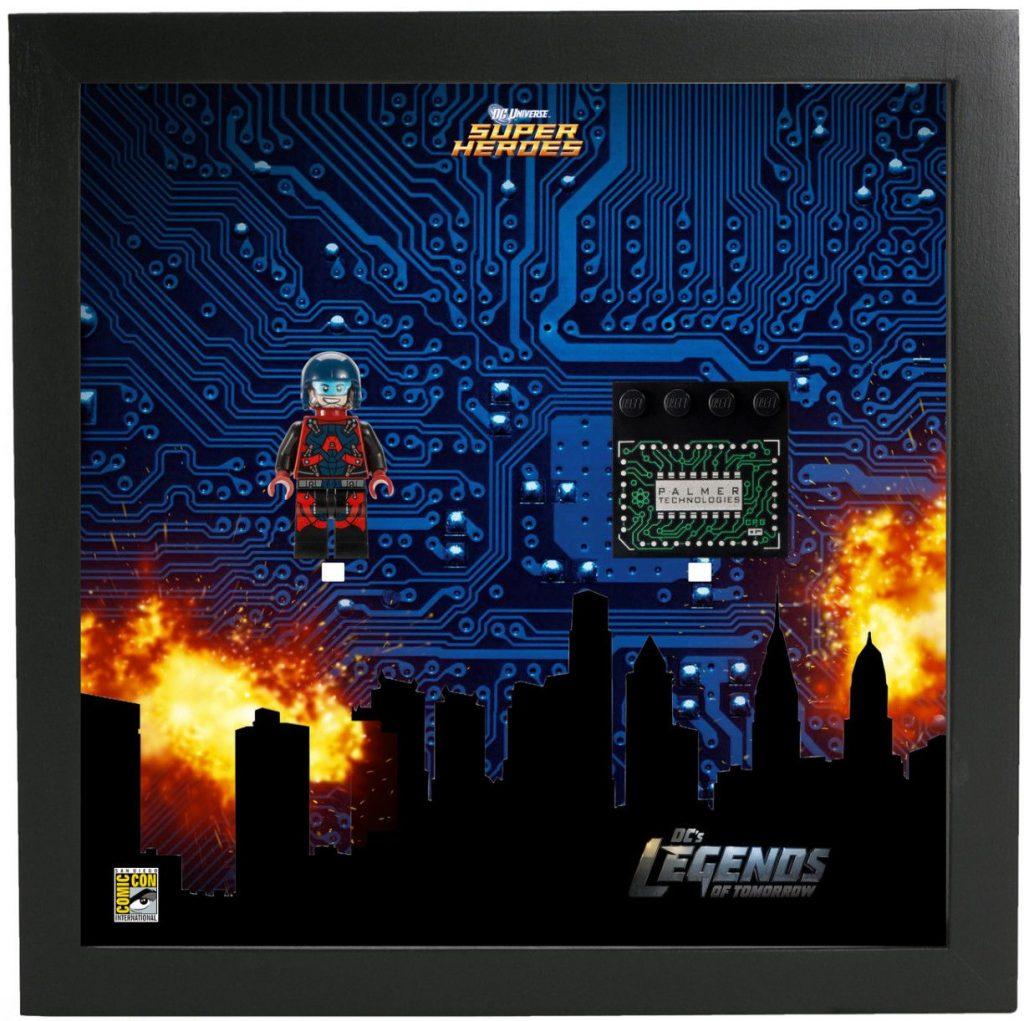 Frame for Lego® Ray Palmer Atom Super Heroes Minifigures – Comic Con Special edition