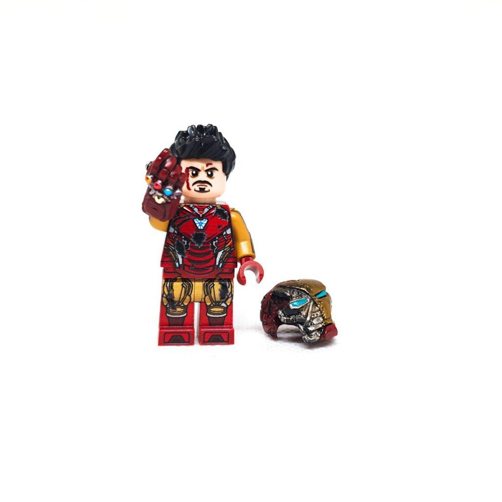 Custom Minifigures Bricks Part Snap Guy Metal Case