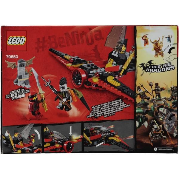 LEGO-Set 70650 Ninjago Destinys Wing