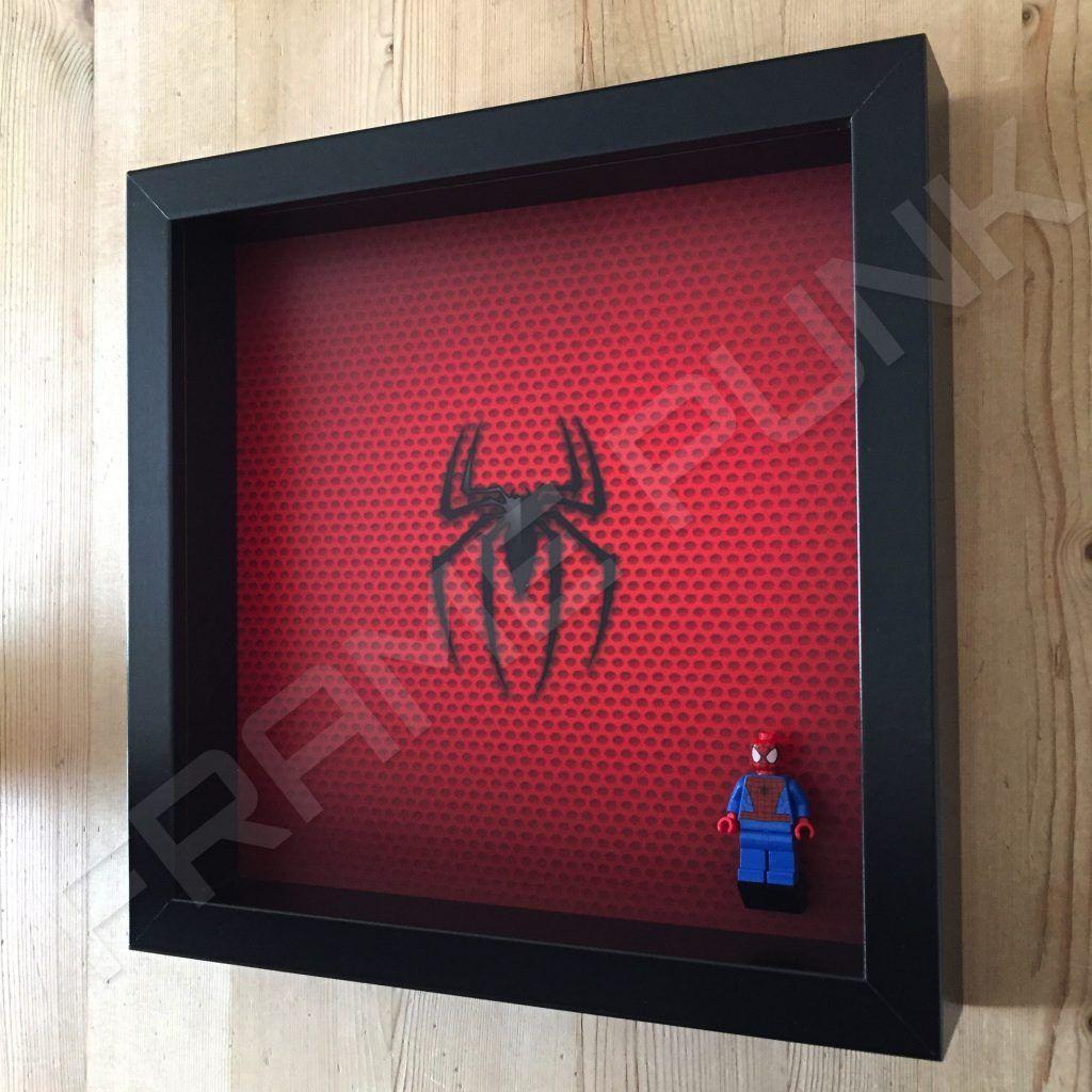 Spider-Man LEGO Minifigure Display Frame | Frame Punk