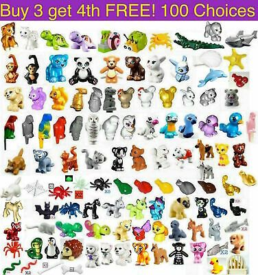 Details about Lego ANIMALS Friends Elves Zoo Farm Pet Bird Cat Dog Bear Monkey Owl Dolphin NEW