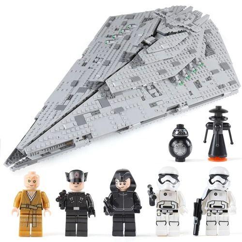 Star Wars First Order Star Destroyer Bricks Set