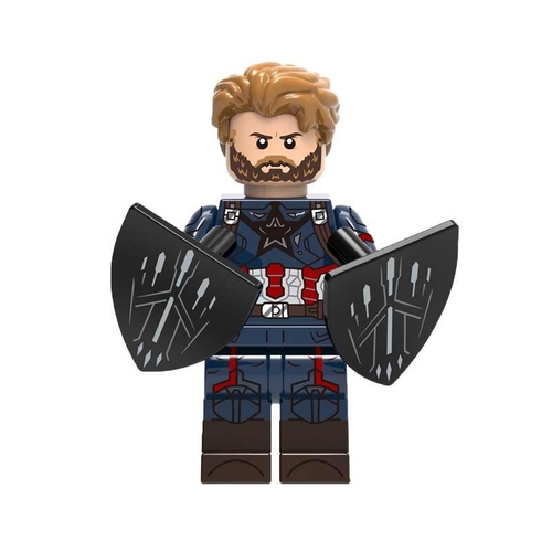 01BigBricks Custom Captain America Minifigures Lego
