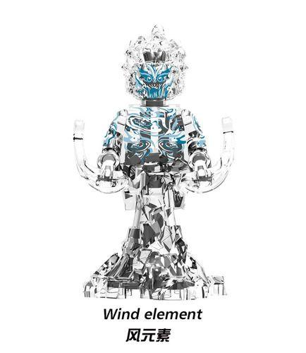 Wind Elemental Spider-Man Marvel Bigfigs Minifigures