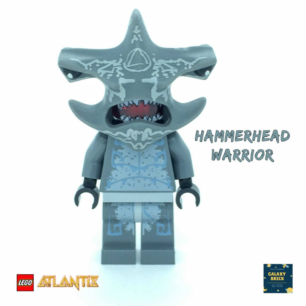 LEGO Hammerhead Warrior Minifigure