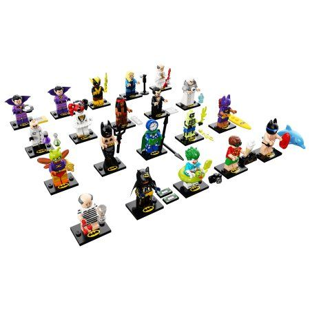 LEGO Minifigures The LEGO Batman Movie Series 2 71020 – Walmart.com