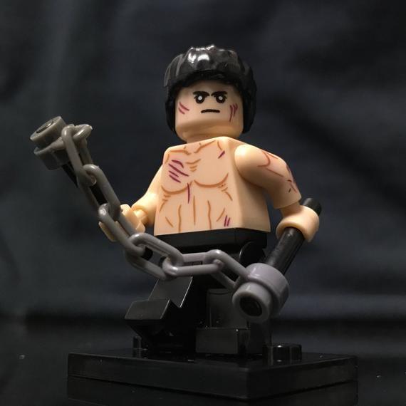 Kung Fu Action Superstar Custom Minifigure