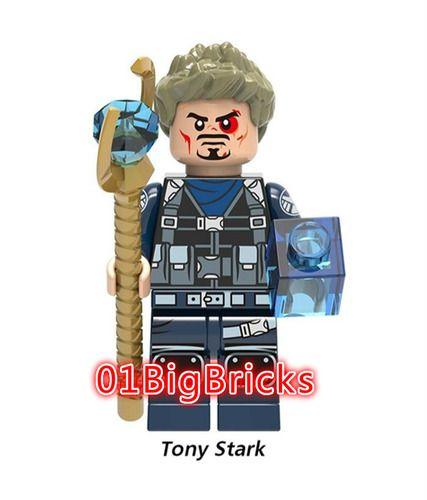 Tony Stark Custom Minifigures Minifigs Fit Lego