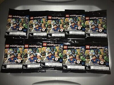 Ad – Lego Minifigures DC COMICS LOT OF 10 Unopened / Unsearched Packs 71026