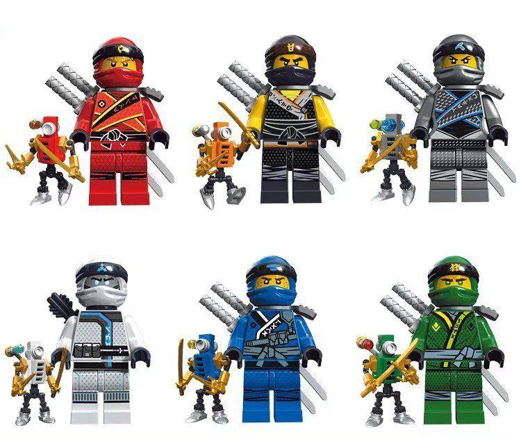 Ninjago minifigures Masters of Spinjitzu Lego Minifigures Compatible Toy