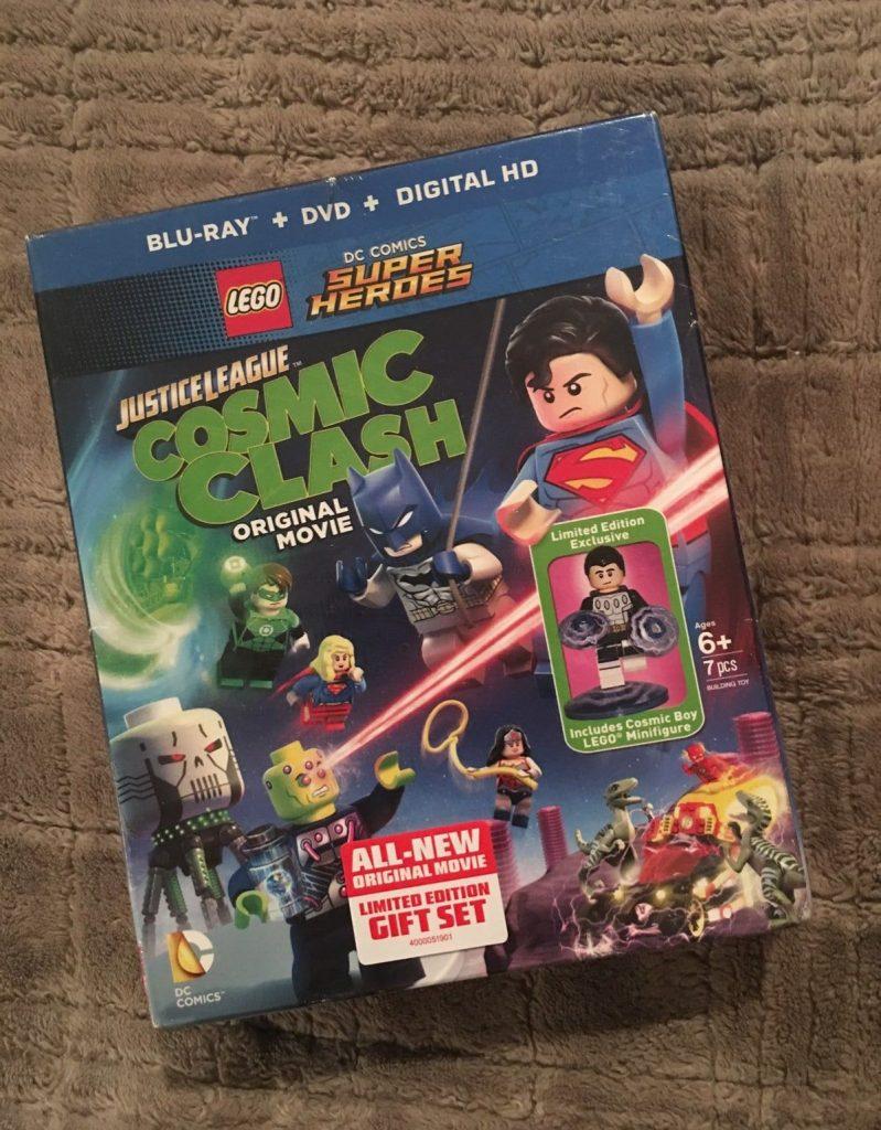 LEGO Justice League Cosmic Clash dvd