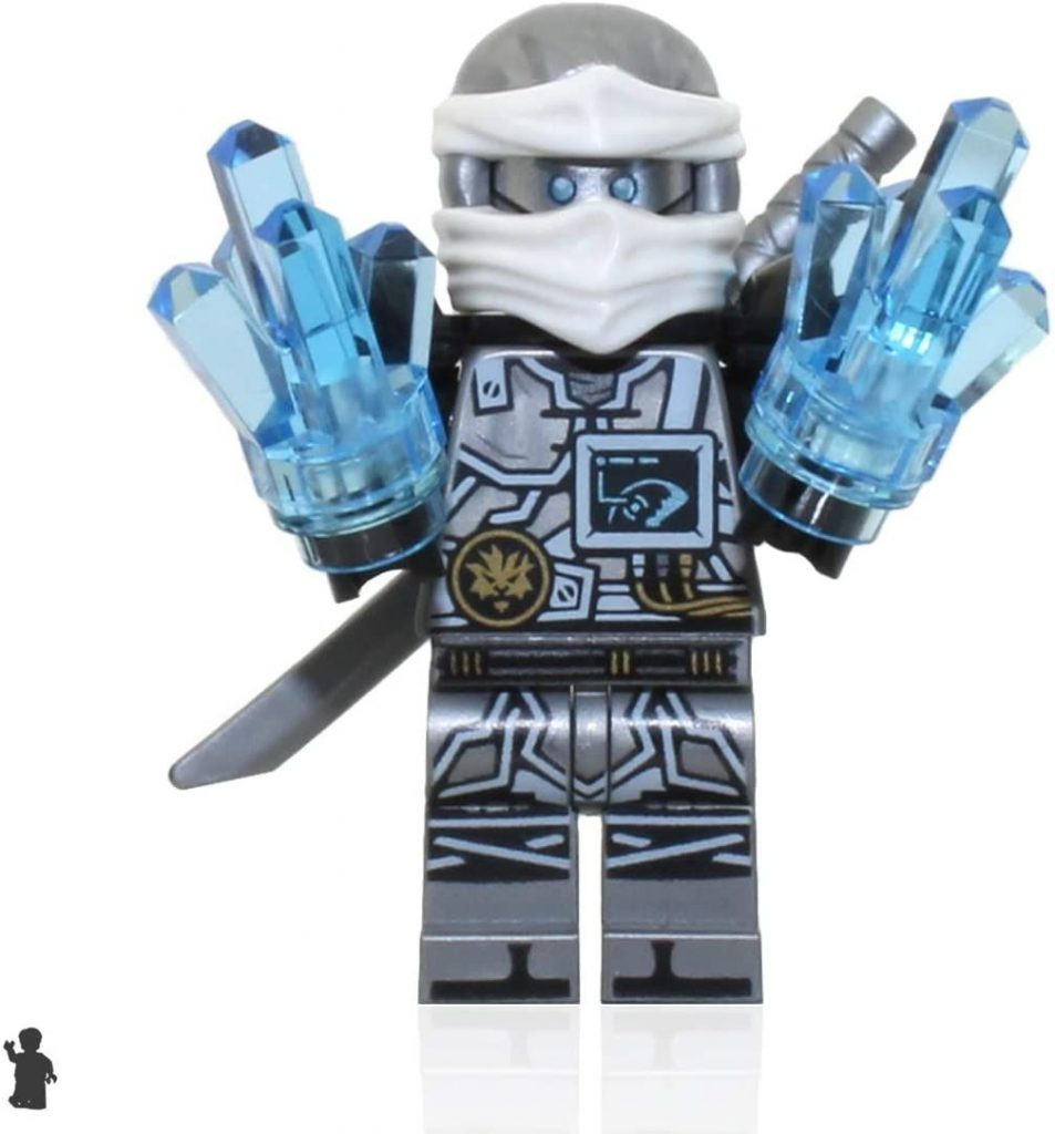 LEGO Ninjago Hands of time Minifigure – Zane (Limited Edition Foil Pack with Sword and Crystals)