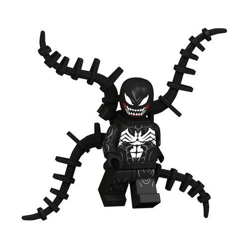 01BigBricks Custom Venom Marvel Minifigs Fit Lego