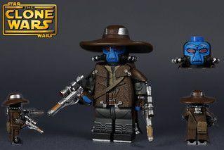 Custom LEGO Star Wars The Clone Wars: S1 Cad Bane