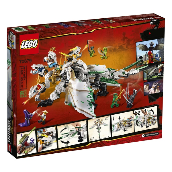 LEGO 70679 NINJAGO Legacy The Ultra Dragon Toy Set – Smyths Toys