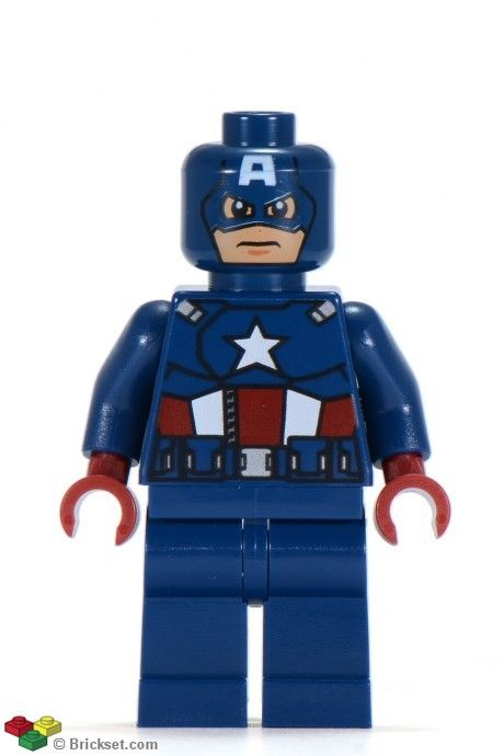 sh014: Captain America – Dark Blue Suit
