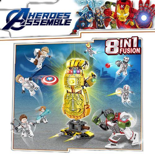 Avengers Endgame Marvel Block Set Minifigs Minifigures
