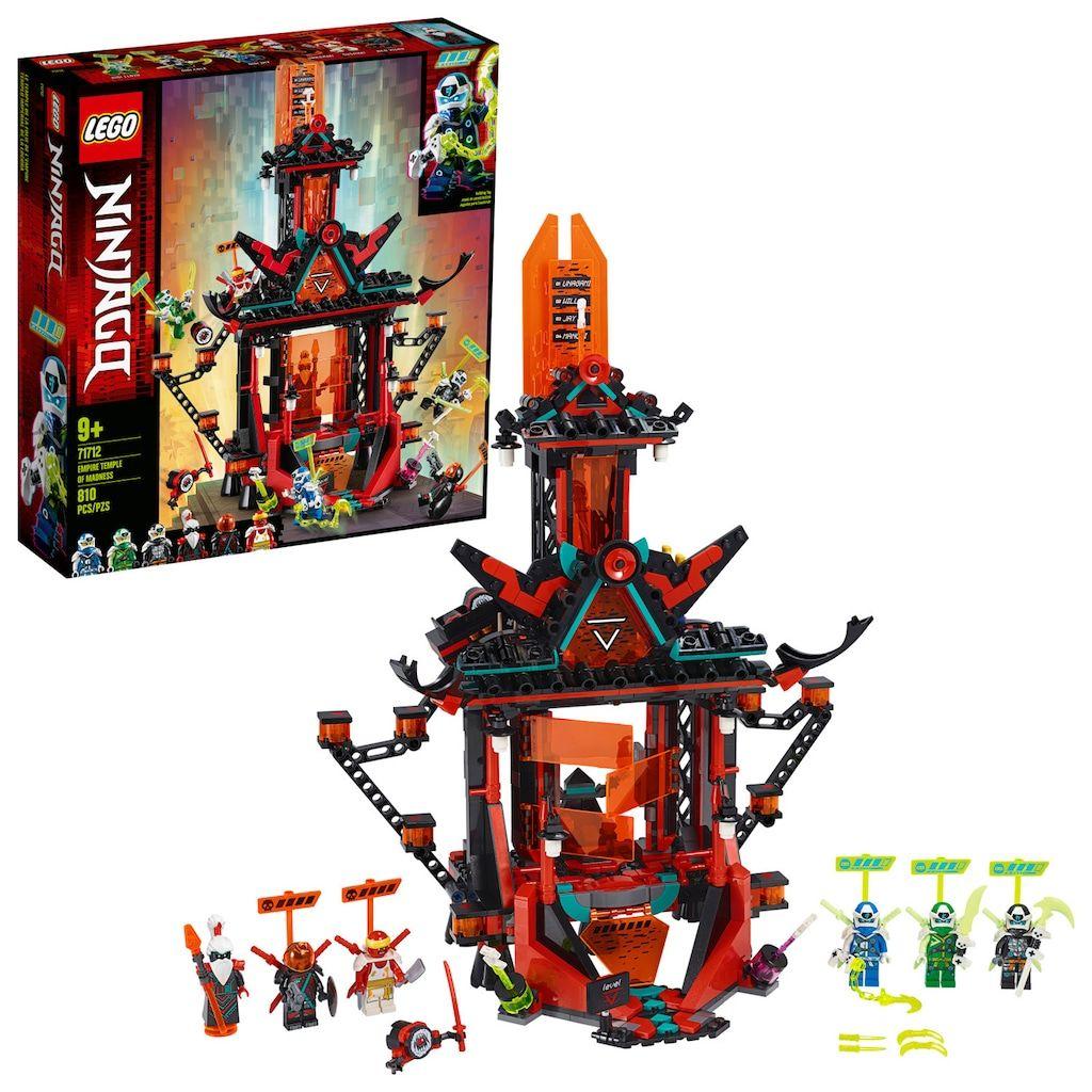 LEGO NINJAGO Empire Temple of Madness 71712 Building Kit