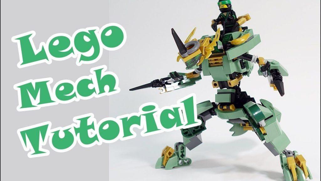 Lego Ninjago Set 70612 alternate build Shinryu Dragon Mech Tutorial