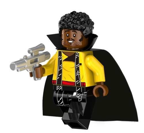 01 Big Bricks Custom Lando Calrissian Star Wars Mavrel DC SuperHeroes Minifigures Toy Mini figure Fit Lego Blocks PG803