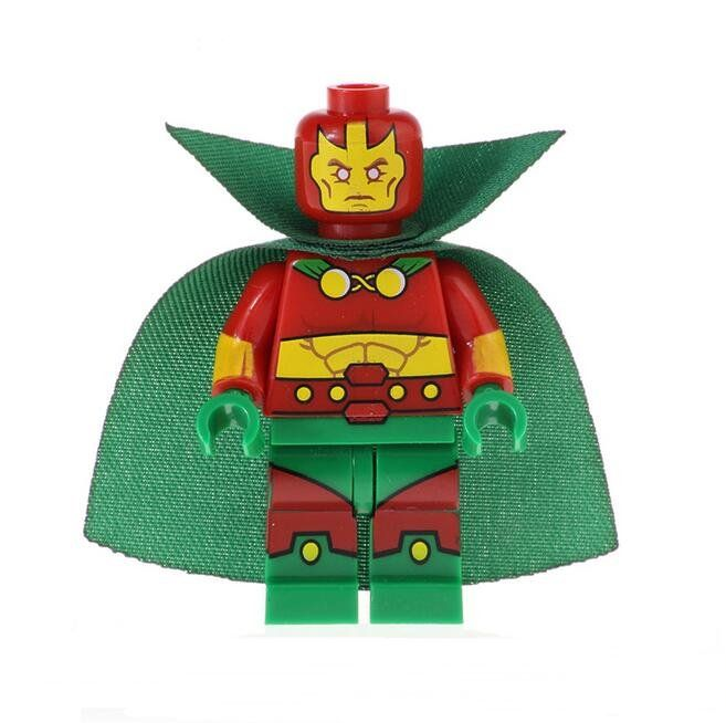 Mr Miracle Lego Minifigures Compatible Super Heroes series