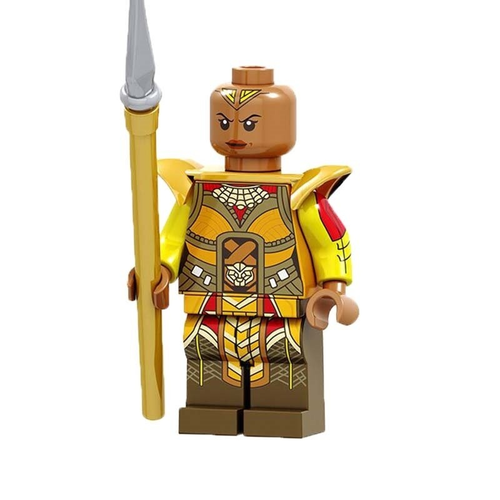 01 Big Bricks Custom Okoye Mavrel DC SuperHeroes Minifigures Toy Mini figure Fit Lego Blocks PG1564