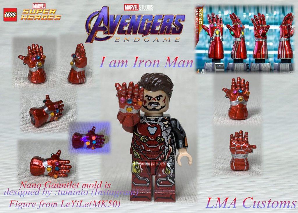"""Custom Lego Avengers:Endgame """"Nano Gauntlet"""""""