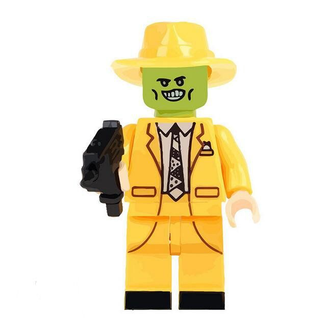 The Mask Lego Minifigures Compatible movie series Toy