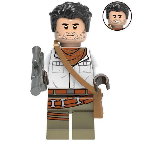 Poe Dameron Star Wars Custom Minifigs Fit Lego G0001