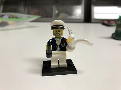 Ad – LEGO Minifigures Series 10 Sea Captain (71001) Boat Ship Ocean Seagull Sail…