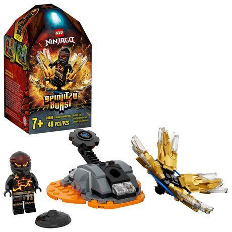 Lego Ninjago Spinjitzu Burst – Cole 70685 Toy Building Kit (48 Pieces) Multi